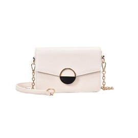 PU Thread Plain Square Crossbody Bags