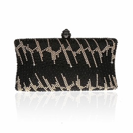 Vintage Exquisite Rhinestone Evening Clutch