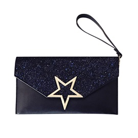 Sequins Five-Pointed Star Women Clutch