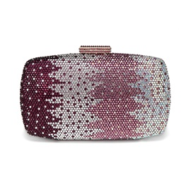 Particular Checkered Water Ripple Clutches&Evening Bag