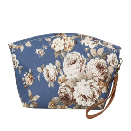 Fresh Nylon Floral Tote Bag