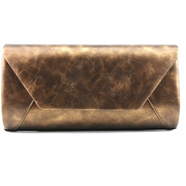 Retro Vary Color Chain Magnetic Snap Evening Bag