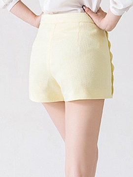 Elegant High-Waist Wide-Leg Short