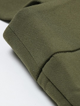 Army Green Gallus Overall Jumpsuit