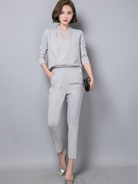 Wear To Work Casual Jumpsuit