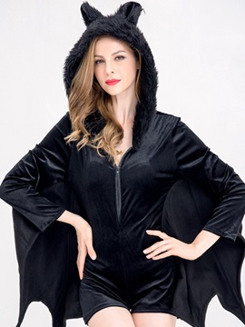 Halloween Loose Bat Costume Women's Romper