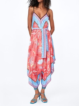 African Fashion Print Floral Loose Women