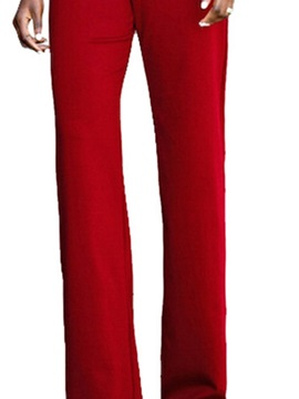 Plain Western Full Length Slim Straight Women's Jumpsuit