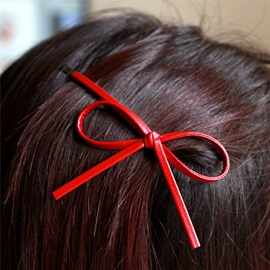 Cute Bowknot Shaped Alloy Hair Clip