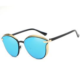 New Style Round Retro Polarized Sunglasses for Women