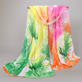 Hot Women's Floral Printed Scarf