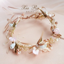 Romantic Bowtie Handmade Bride's Wedding Hair Accessories
