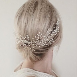 Graceful Women's Handmade Hair Accessories for Wedding