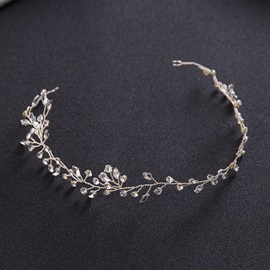 Exquisite Fully-Jewelled Handmade Bride's Hair Accessories
