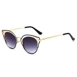 Resin Lens Cat Eye Design Anti-UV Women Sunglasses