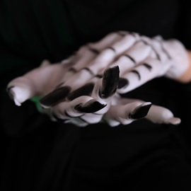 Ghost Cosplay Masquerade Halloween Gloves