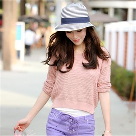 Fashion Stripe Women's Hat
