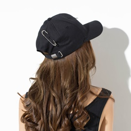 Iron Circles Korean Style Women Cap Baseball Hats
