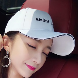 Student Letter Embroidery Adjustable Baseball Cap