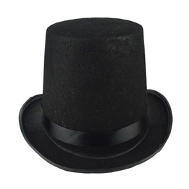 Halloween Make Up Party Magician Fedora Hat