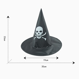 Ghost Pattern Halloween Party Witch hat