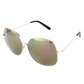 Big Lens Alloy Sunglasses