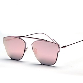Graceful Pc Lens Material Sunglasses