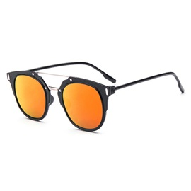 Vintage Style Ac Lens Material Sunglasses