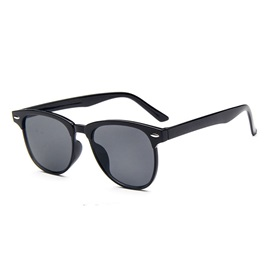 Retro Style Resin Lens Material Sunglasses