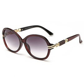 New Style Round Frame Anti UV Sunglasses