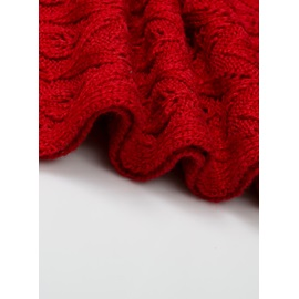 Classy Wool and Woolen Yarn knitted Women's Sarf