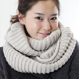 Simple Knitted Neck Warmer