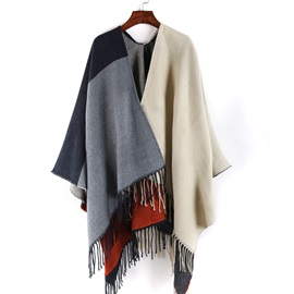 Cashmere Warm Tassel Long Shawl Scarfs