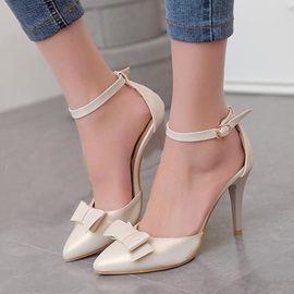 Bowknots Pointed Toe Sandals