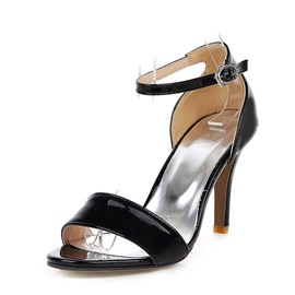 PU Covering Heel Sandals