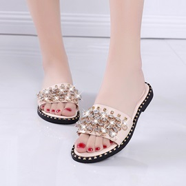 Summer Flat Floral Shoes Slide Sandal