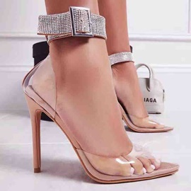 Buckle Pointed Toe Banquet Women's Sandals