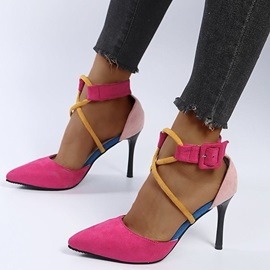 Stiletto Heel Buckle Buckle Sexy Thin Shoes