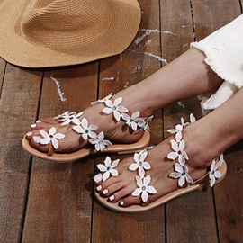 Slip-On Thong Flat With Casual Sandals