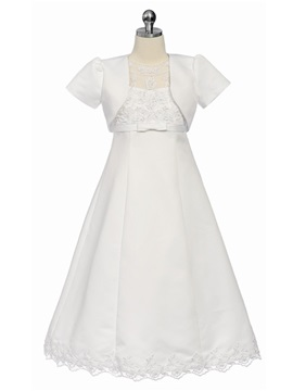 Best Selling 2-Piece A-Line Flower Girl Dress