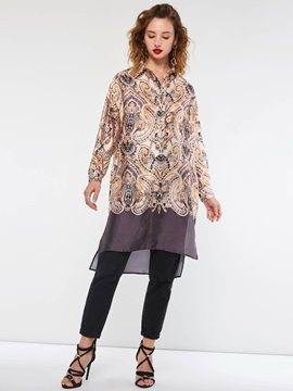 Knee-Length Pullover Patchwork Fall Women's Casual Dress