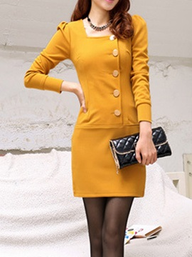 England Stylish Sleeve Dress