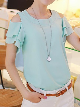 Special Sleeves off-shoulder Blouse
