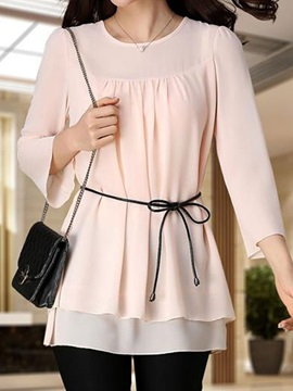 Special Nine Points Sleeves Loose Blouse