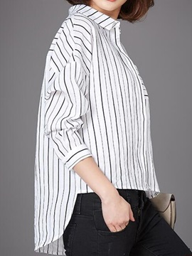 Stylish Stripe Loose Shirt