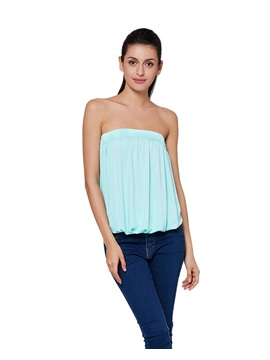 Stylish Solid Color Sleeveless Blouse