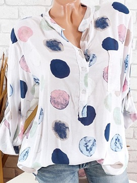 Tidebuy Prints Multi Colori Women's Blouse