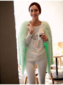 Luxury New Candy Color Loose Knit Cardigan