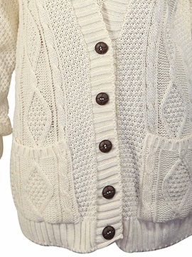 Stylish V-Neck Loose Cardigan