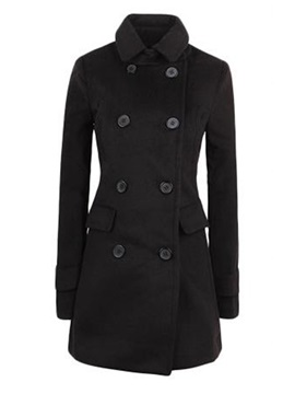 Chic Splendid Double Breasted Trench Coat